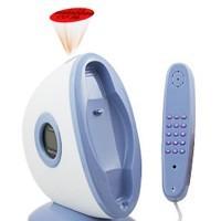 Teléfono con proyector que informa de las llamadas