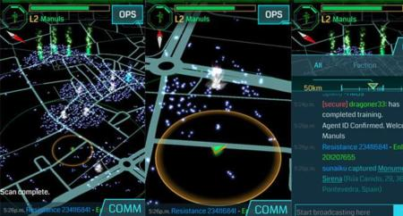 Ingress, el juego de realidad virtual aumentada de Google ya está disponible para iOS