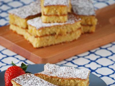 Receta de Pastel Biarritz. Delicioso dulce tradicional sin gluten