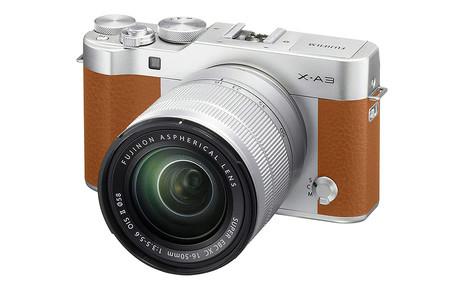 Fujifilm X A3 Camel