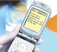 SMS para protestar