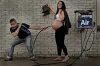 Cómo mostrar un embarazo en pocos minutos gracias a la fotografía