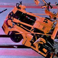 Video: Así le va a los autos de LEGO en pruebas de choque