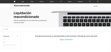 Reacondicionado Apple
