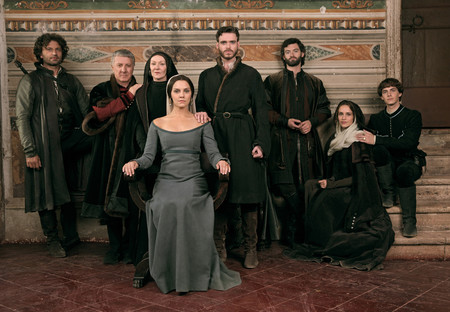 La historia de 'Los Medici' es única para Frank Spotnitz