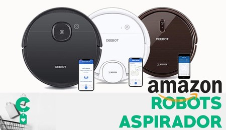 Ofertas en robots aspirador Ecovacs en Amazon: quedarse en casa no significa tener que hacer limpieza