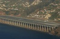 El aeropuerto de Funchal