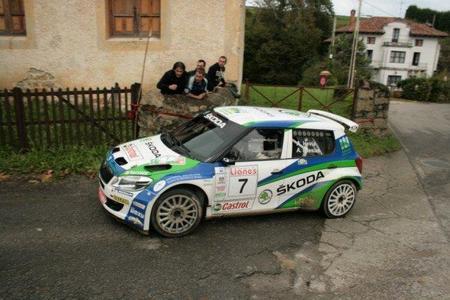Miguel Fuster más cerca del titulo después del Rally Villa de Llanes