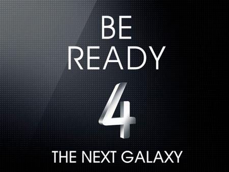 El Samsung Galaxy SIV vuelve a confirmar su llegada e invita al público a conocerlo