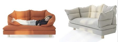 Enveloppe Sofa, un sofá envolvente