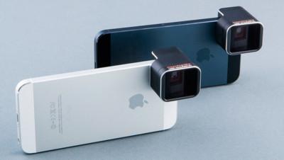 Nueva lente anamórfica con factor 1.33x dará nuevas posibilidades a la cámara del iPhone 5/5s