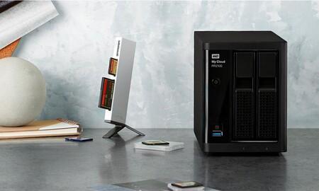 Un NAS profesional como el Western Digital My Cloud Pro Series PR2100 con 8 TB cuesta esta semana 175 euros menos en Amazon