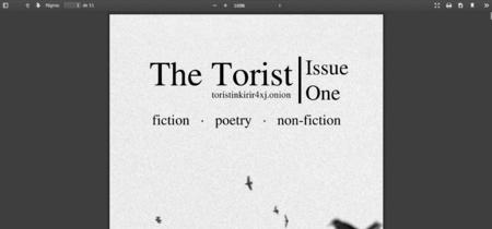 Nace Torist, la revista literaria que solo encontrarás en la deep web