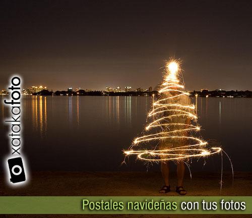 Postales navide as con tus fotos trucos y consejos para - Imagenes con trucos opticos ...