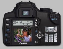 Canon Digital Rebel XCP, cámara más móvil