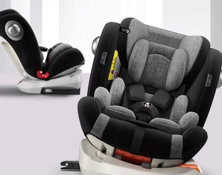 La silla de coche más vendida en Amazon es esta Babify que permite viajar a contramarcha y que está rebajadísima hoy