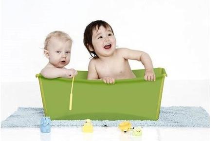 FlexiBath, la bañera flexible para bebés
