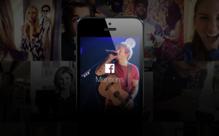 Mentions, la nueva aplicación de Facebook para famosos