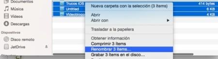 Renombrar archivos en grupo será más sencillo en OS X Yosemite