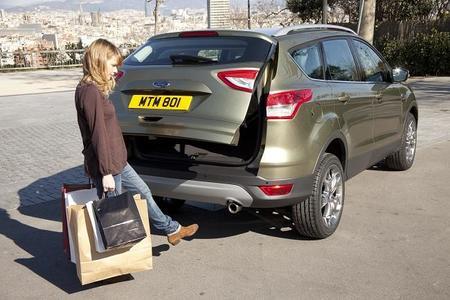 El Nuevo Ford Kuga dispondrá de un sistema de apertura del portón trasero sin manos