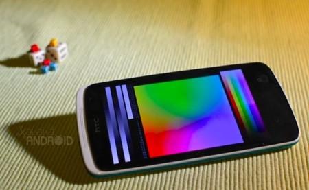 HTC Desire 500 - pantalla