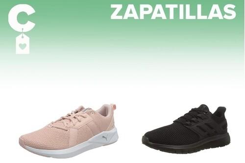 Chollos en tallas sueltas de  zapatillas Puma, Reebok, Adidas o Nike en Amazon