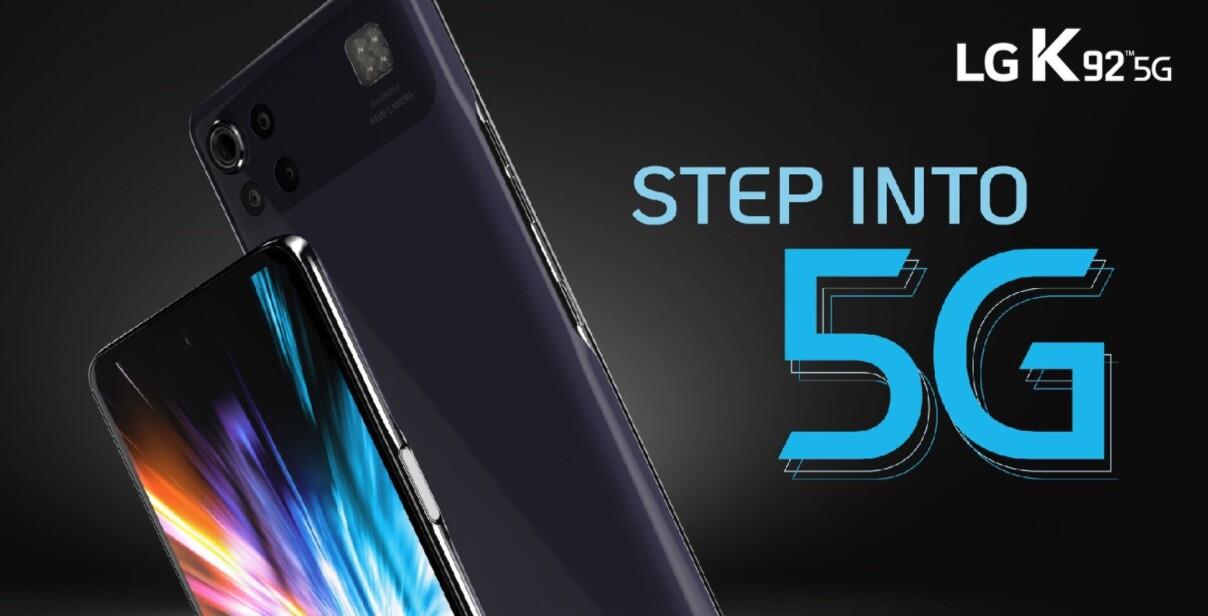 Nuevo LG K92 5G: la última generación de conectividad móvil para una línea económica con buena memoria