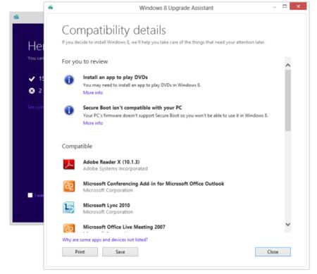 Cuarenta dólares: el precio de actualizar nuestro PC a Windows 8 Pro