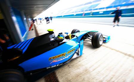 Ramon Piñeiro GP2 Test Jerez