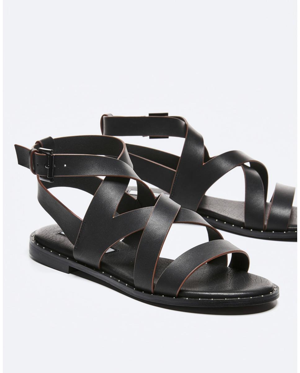 Sandalias planas de mujer Pepe Jeans estilo romanas con tachuelas