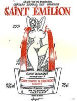 Gérard Descambre, el rey de las etiquetas satíricas