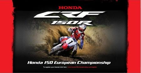 Honda 150 European Championship, precios y detalles del campeonato de motocross para jóvenes