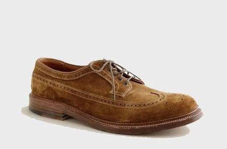 El zapato clásico troquelado de Alden para J Crew