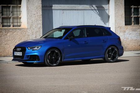 Audi RS3 Sportback Prueba lateral