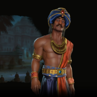 Civilization VI: Rise and Fall nos presenta a Chandragupta, un líder alternativo más agresivo para la India