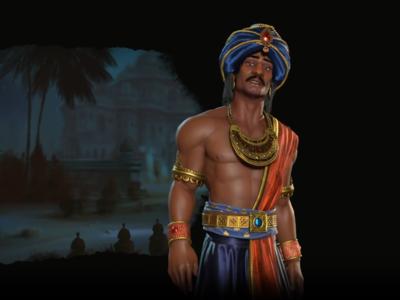 Civilization VI: Rise and Fall nos presenta a Chandragupta, un líder alternativo más agresivo para la India
