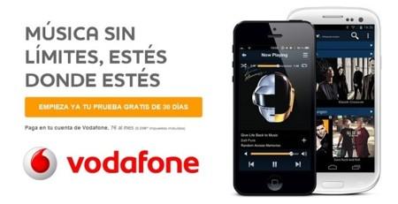 Vodafone se alía con Napster ofreciendo música sin límites por siete euros al mes