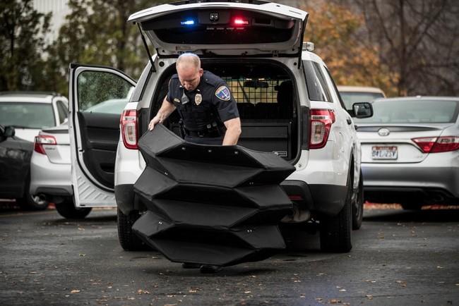 Origami Bulletproof Shield 3