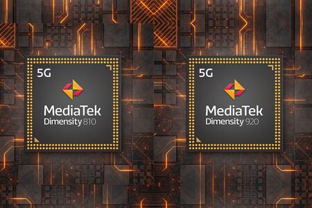 MediaTek Dimensity 920 y Dimensity 810: un poquito más de potencia para la gama media 5G