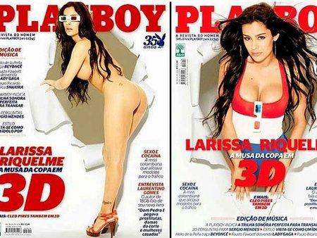 Larissa Riquelme y sus pechos en 3D, un sueño hecho realidad por cortesía de Playboy