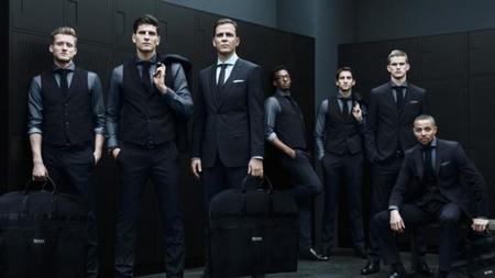 Selección Alemana vistiendo de Hugo Boss