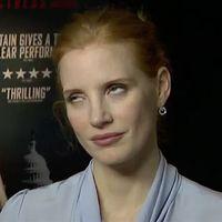 Jessica Chastain dice que necesitamos más mujeres entre la crítica y ataca la técnica de Johnny Depp