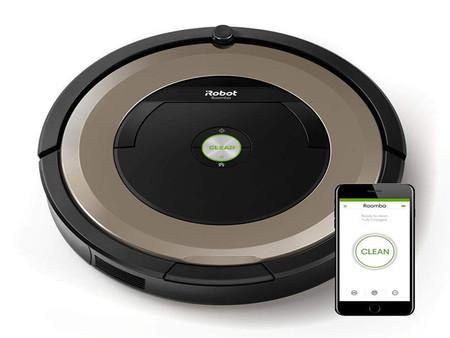 El robot aspirador iRobot Roomba 891 está por 389 euros en MediaMarkt