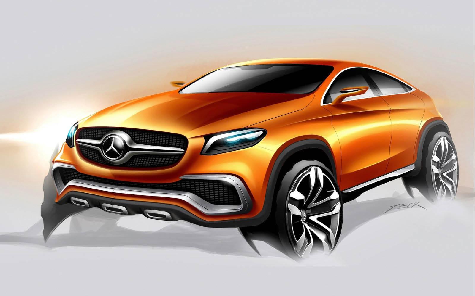 Foto de Mercedes-Benz Coupé SUV Concept (28/30)