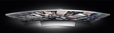 Televisor curvo UHD Samsung