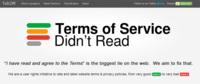 ToS;DR lee por ti los términos de uso de varios servicios web y te explica los puntos más importantes