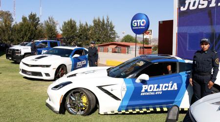 En Guanajuato utilizarán muscle-cars como patrullas