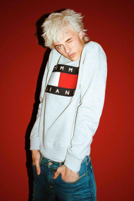 Tommy Jeans 2016 Collection Lucky Blue Smith 1