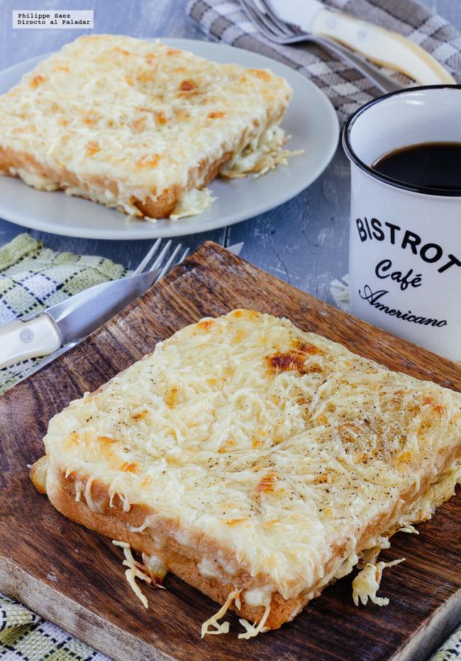 Sándwich Croque-Monsieur. Receta rápida del típico sándwich francés para desayunar en la gran final del Mundial Rusia 2018