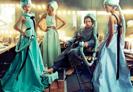 Derek Zoolander aparece en su primera portada de Vogue fotografiado por Annie Leibovitz